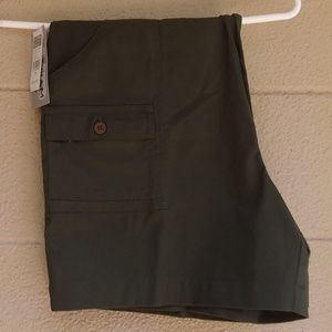 NWT Windham Pointe Men's Green Cargo Shorts 36
